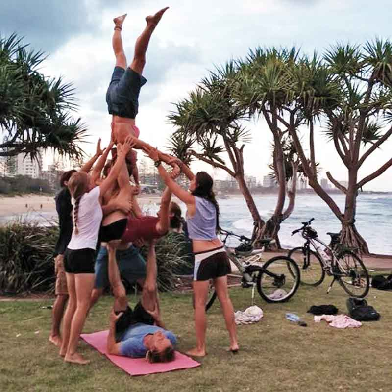 Hanuman Acrobatic Yoga Events and Teacher Training